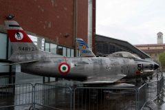 Fiat/North American F-86K Sabre MM55-4812 Italian Air Force, Museo Nazionale della Scienza e della Tecnica Leonardo da Vinci, Milano