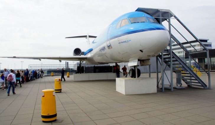 Fokker 100 PH-OFE KLM