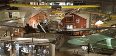 Inside Norwegian Aviation Museum