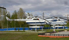 Mil Mi-6A and Mil Mi-8T