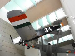 Miles Magister 1 34 Irish Air Corps in National Museum of Ireland