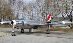 Republic F-84G Thunderjet Z-MU