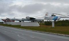 Salekhard Airport Display
