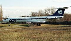 Tupolev Tu-134A SP-LHE