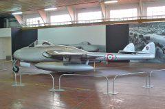 de Havilland Vampire FB.6 F-AZHJ 6-8 Italian Air Force, Volandia