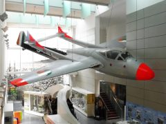 de Havilland Vampire T.11 198 Irish Air Corps in National Museum of Ireland