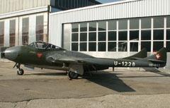 de Havilland Vampire T.55 HB-RVJ/U-1228