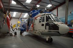 Aerospatiale AS332L Super Puma G-TIGE Bristow Helicopters, The Helicopter Museum