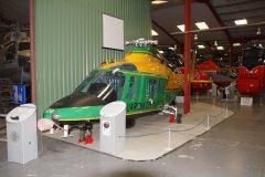 Agusta A109A-IIGdF MM81205 GdiF-128 Guardia di Finanza, The Helicopter Museum Weston-super-Mare