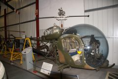 Agusta-Bell 47G-3B1 Sioux AH Mk.1 XT190 Army Aviation, The Helicopter Museum Weston-super-Mare
