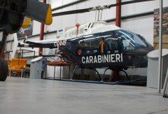 Agusta-Bell AB206C-1 Jetranger MM80927 CC-49 Carabinieri (Italian Police) The Helicopter Museum Weston-super-Mare