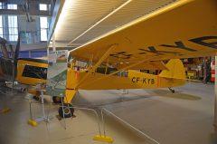 Auster T.7 CF-KYB, The Hangar Flight Museum, Galgary