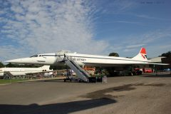BAC Concorde 202 G-BBDG British Airways, Brooklands Museum, Weybridge UK