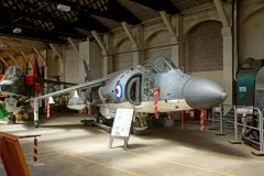 BAe Sea Harrier FA.2 XZ457 VL-104 899 NAS Royal Navy, Boscombe Down Aviation Collection, Old Sarum UK