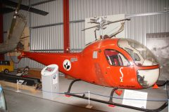 Bell 47H-1 G-OO-SHW, The Helicopter Museum Weston-super-Mare