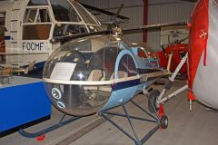 Brantly B.2A G-ATFG, The Helicopter Museum Weston-super-Mare