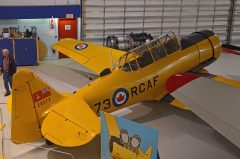 CCF T-6 Harvard Mk.4 C-FRUJ/20273 RCAF, The Hangar Flight Museum