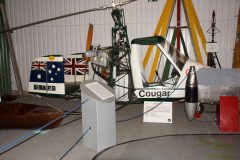 Campbell Cougar G-BAPS, The Helicopter Museum Weston-super-Mare