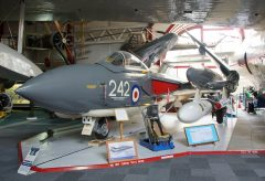De Havilland DH-110 Sea Vixen FAW.2 XJ571 242 Fleet Air Arm, Solent Sky Museum