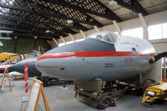 English Electric Canberra T.4 WJ865 RAF, Boscombe Down Aviation Collection, Old Sarum UK