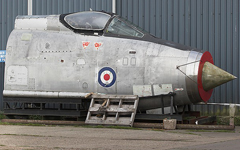 English Electric Lightning F.53 (nose) ZF587