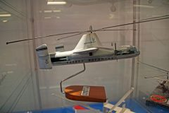 Fairey Rotordyne model, The Helicopter Museum Weston-super-Mare