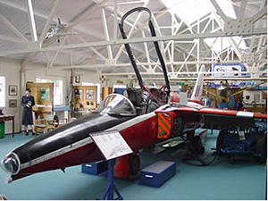 Folland Gnat T.1 XR574/72