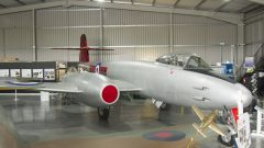 Gloster Meteor F.8 WH364 601 Sq RAF, Jet Age Museum
