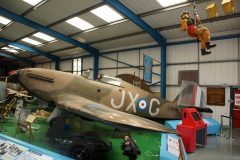 Hawker Hurricane Mk.1 L1679/JX-G Royal Air Force, Tangmere Military Aviation Museum