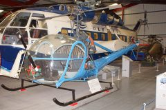 Hiller UH-12C G-ASTP, The Helicopter Museum Weston-super-Mare