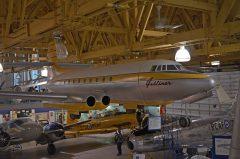 Jetliner model, The Hangar Flight Museum. Formerly the Aero Space Museum of Calgary