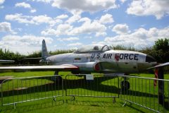 Lockheed T-33A 19252 USAF Tangmere Military Aviation Museum