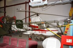 McCulloch J-2 Gyroplane G-ORVB, The Helicopter Museum Weston-super-Mare