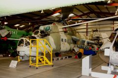 Mil Mi-24D Hind 96+26 German Air Force, The Helicopter Museum Weston-super-Mare