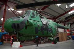 Mil Mi-4 Hound 9147 Czech Air Force, The Helicopter Museum Weston-super-Mare