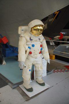 Space suit NASA Astronaut Jack Schmitt Apollo 17, Solent Sky Museum