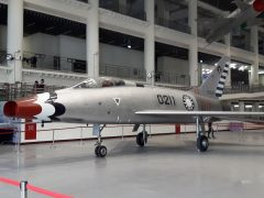 North American F-100A Super Sabre 0211 31561 Republic of China Air Force Museum