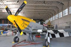 North American P-51D Mustang G-BTCD 44-13704 B7-H Ferocious Frankie, IWM – Imperial War Museum Duxford