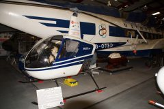 Robinson R22HP G-OTED, The Helicopter Museum Weston-super-Mare