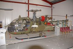 Sud Aviation SA 318C Alouette 2 A-41 Belgium Army, The Helicopter Museum Weston-super-Mare