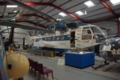 Sud Aviation SA321F Super Frelon F-OCFM Olympic Airways, The Helicopter Museum Weston-super-Mare