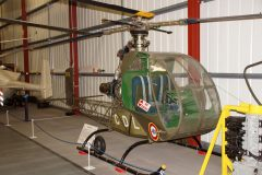 Sud Ouest SO1221 Djinn 1058 CDL French Army, The Helicopter Museum Weston-super-Mare