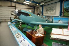 Supermarine Spitfire prototype (replica) K4054 RAF, Tangmere Military Aviation Museum