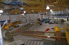 The Hangar Flight Museum. Formerly the Aero Space Museum of Calgary