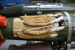 WE177 atomic weapon, Boscombe Down Aviation Collection, Old Sarum UK