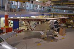 Waco EQC-6 Custom CF-AZM, The Hangar Flight Museum