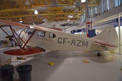 Waco EQC-6 Custom CF-AZM, The Hangar Flight Museum, Galgary