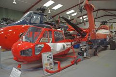 Westland Scout AH Mk.1 XP165 ETPS RAF, The Helicopter Museum Weston-super-Mare