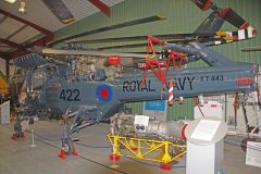 Westland Wasp HAS Mk.1 XT443 422 Royal Navy HMS Aurora, The Helicopter Museum Weston-super-Mare