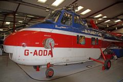 Westland Whirlwind 3 G-AODA Bristow, The Helicopter Museum Weston-super-Mare